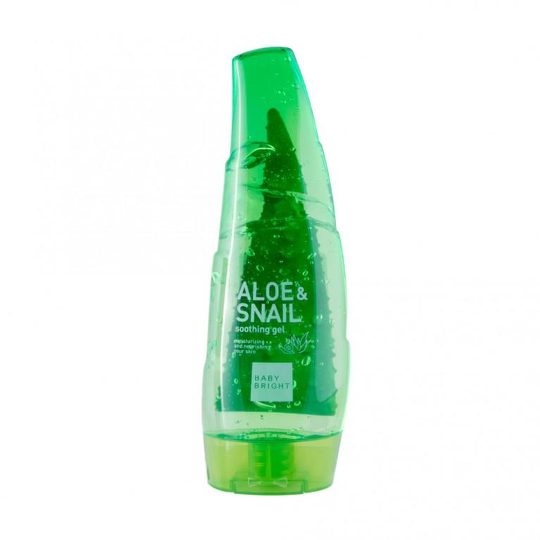 Aloe Snail Soothing Gel 250ml Baby Bright