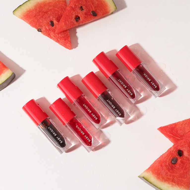 Lip & Cheek Watermelon Gel Tint 2.5g Baby Bright-Miw