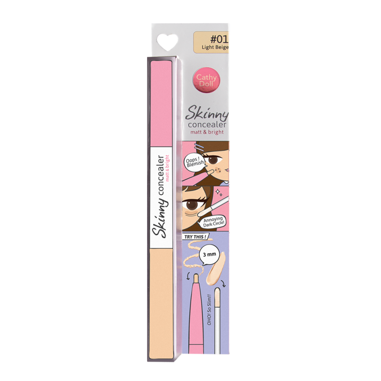 Skinny Concealer Matt & Bright 1g+2g Cathy Doll