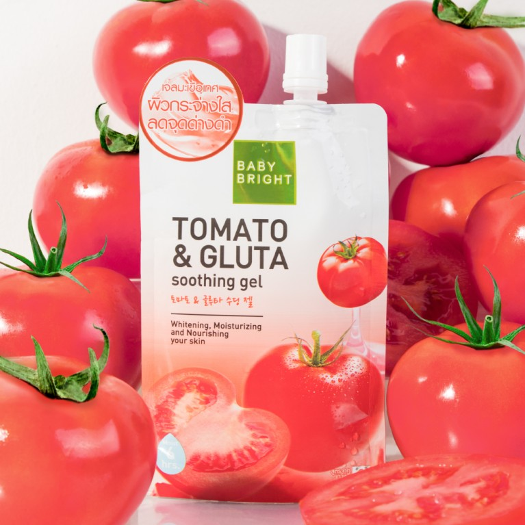 Tomato  & Gluta Soothing Gel 50g Baby Bright