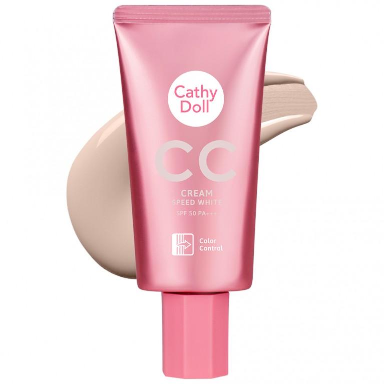 CC Cream SPF50 PA+++ 50ml Cathy Doll Speed White(2020)
