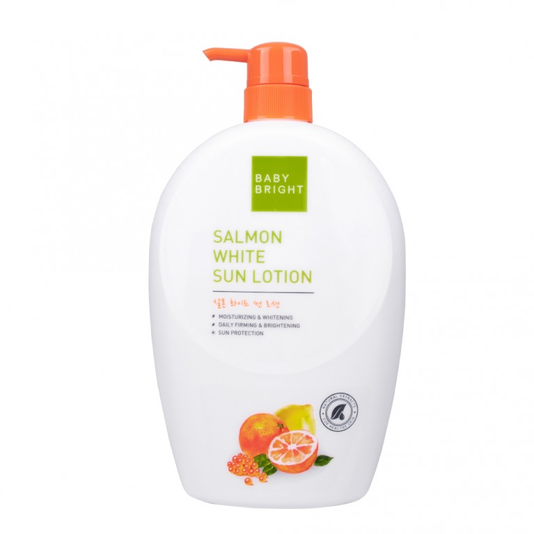 Salmon White Sun Lotion 750ml Baby Bright (B) (Y2019)