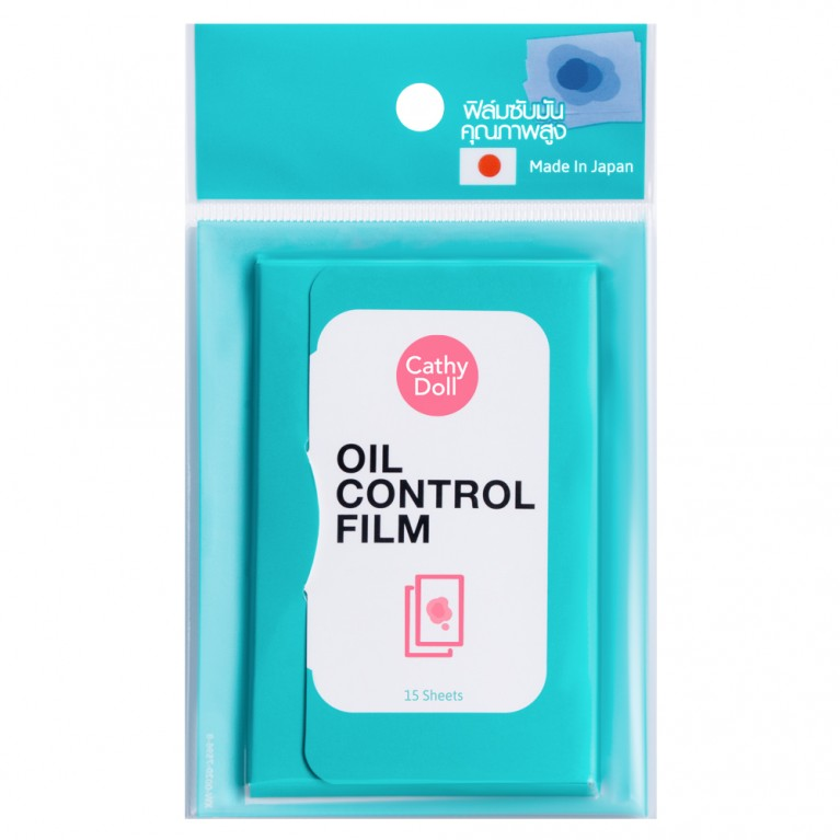 Oil Control Film 15sheets Cathy Doll  (Y2020)