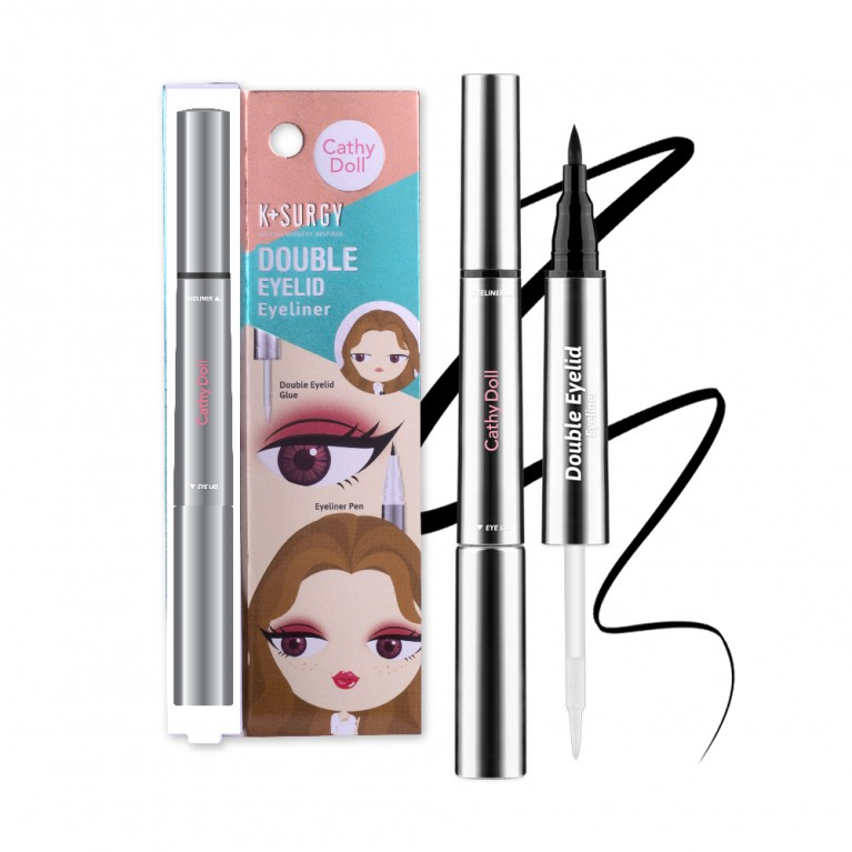 Double Eyelid Eyeliner 1g+0.4g Cathy Doll K Surgy