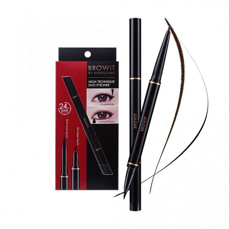 HighTechnique Duo Eyeliner 0.45ml+0.08g Browit