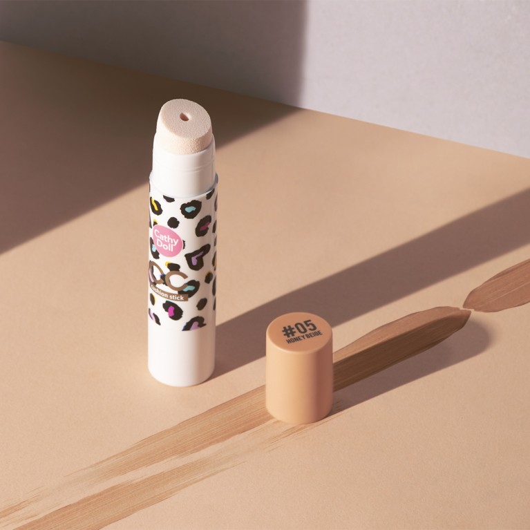 CC Cushion Stick 9g Cathy Doll Free Skinny Concealer Matt & Bright 1g+2g Cathy Doll #02 Natural Beige