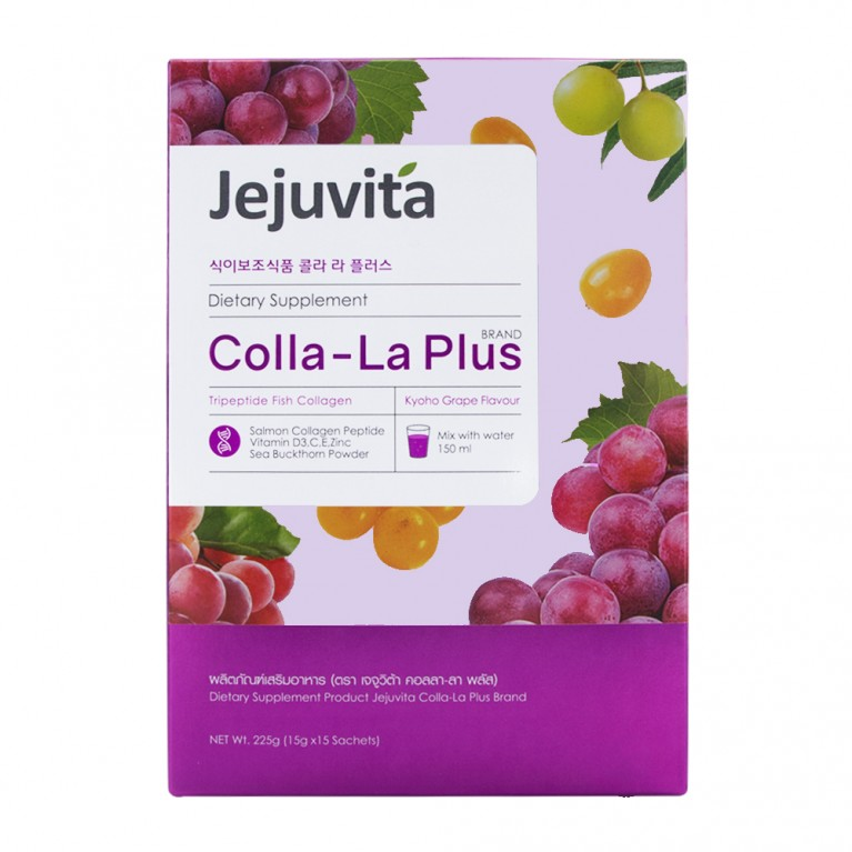 Colla-LA Plus 15000mg x 15 Sachets Jejuvita (15ซอง 1กล่อง)