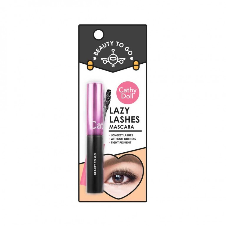 Lazy Lashes Mascara 4g Cathy Doll Beauty To Go