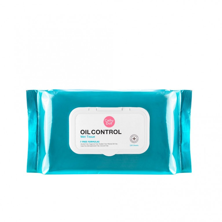Oil Control Wet Tissue 100Sheets