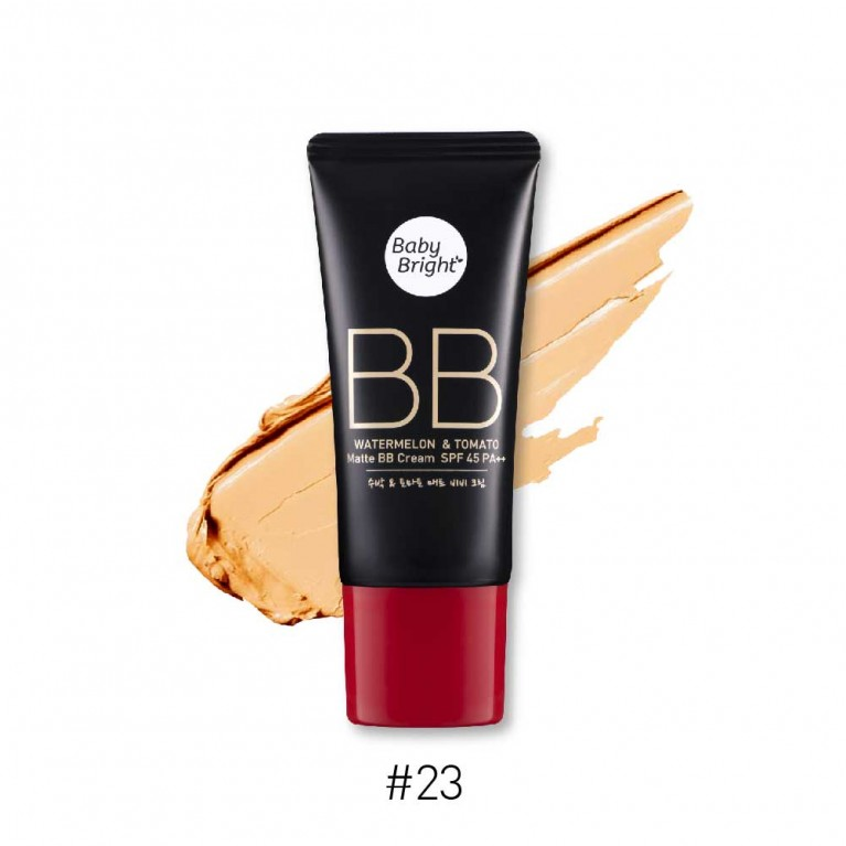 Watermelon & Tomato Matte BB Cream SPF45 PA++ 30g Baby Bright