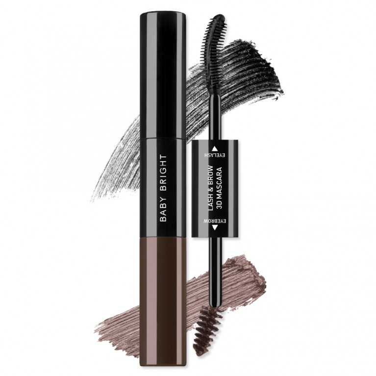 Lash & Brow 3D Mascara 7.5ml+5.5ml Baby Bright