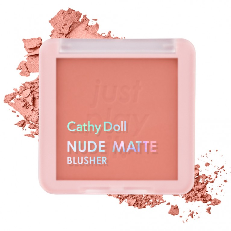 Nude Matte Blusher 6g Cathy Doll